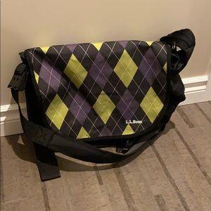 LL Bean messenger bag